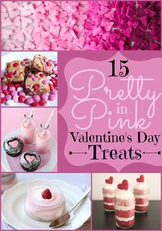 15 Pretty in Pink Valentine's Day Treats
