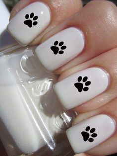 How to succeed in your manicure? - My Nails Dog Nail Art, Nail Art For Kids, Cute Nail Art, Cute Acrylic Nails, Nail Art Diy, Easy Nail Art, Acrylic Nail Designs, Cute Nails, Pretty Nails