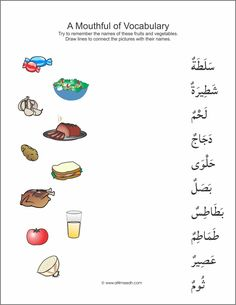 First page of many worksheets matching vocabulary https://www.altilmeedh.com/products/mouthful-of-vocabulary