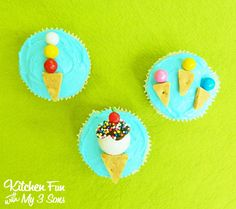 We came up with these super Easy Ice Cream Cupcakes the other day & my boys just loved them. These take just a few minutes to make using candy & graham crackers. We give you 3 different ideas on how to make them. Would be super cute for a pool party or just a fun...Read More »