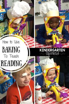 How to use baking to teach reading! Flip your classroom to teach reading skills and have fun!