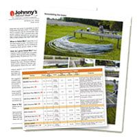 Johnny Seeds--- Selected for Your Success    Each year we trial thousands of seed varieties, tools and supplies based on a strict set of criteria developed from customer input and our Research team. Through these comparison trials, we select only the top performing products to ensure your success.
