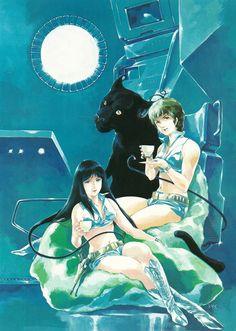 Dirty Pair - 80s anime : Photo