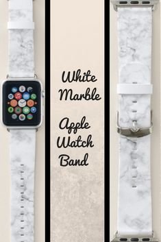 Shop White Marble Apple Watch Band created by redbook. Smart Watch Apple, Apple Watch Series 1, Apple Watch Bands, Apple Fitness, Best Mothers Day Gifts, Band Outfits, My Christmas List, Air Pods, Sale Promotion