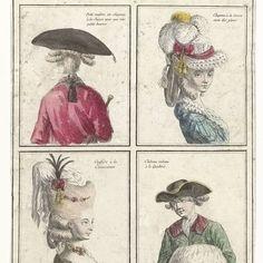 Gallerie des Modes et Costumes Français...Petit-maitre en chapeau à la Suisse, anonymous, c. 1776 - c. 1777 - Rijksmuseum