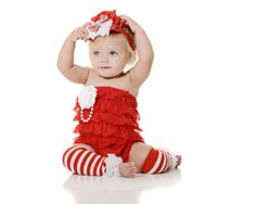 SHIPS on Nov 17th 20 OFF baby glamour by PixiedustPretties on Etsy, $18.99.. Wish Adaley was big enough to wear this for Christmas!