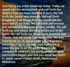 Sister Prayer, Prayers For Sister, My Sister, Our Life, Destiny, Blessed, Sisters, God, Dios