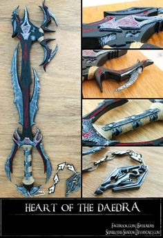 Heart of The Daedra Keyblade by Sephiroths-Shadow on DeviantArt