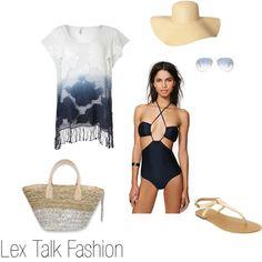 """""""Beach Wear"""" by lextalkfashion on Polyvore"""