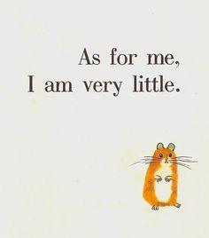 very little