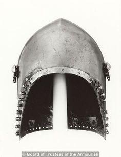 Bascinet, Royal Armouries, Leeds  1380-1400 ref_arm_1525