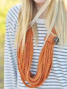 Easiest Beginner Crochet Necklace   This beginner crochet pattern is the easiest and most stylish way to test out those crochet skills, and the unique rope-like appearance will add a great pop of texture to your outfits.