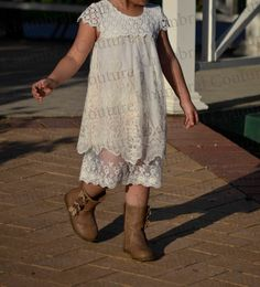 Sale Limited Special Flower Girl Lace  Dress by KhambralCouture, $60.00