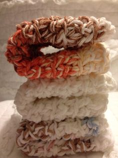 Cozy crotched dishcloths in Its beginning to by AllAboutTheCozy, $6.00
