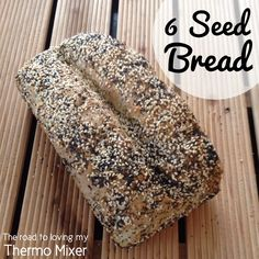 ⭐️ 6 Seed Bread recipe and others! Soft bread in the Thermomix is possible! – The Road to Loving My Thermo Mixer Thermomix Bread, Layer Chicken, Bread Tin, Seed Bread, Hot Cross Buns, Sausage Rolls, Bread And Pastries, How To Make Bread, Bread Making