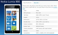 O2 Germany claims to have a 32 GB Nokia Lumia 900