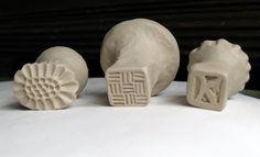 Clay stamps. Kelly Lynn Daniels