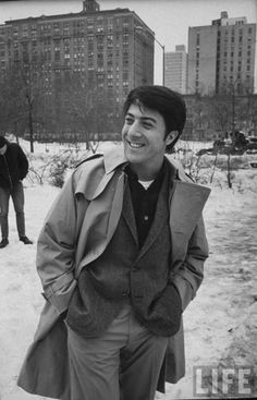 #Sixties | Dustin Hoffman in New York during filming of John and Mary, 1969