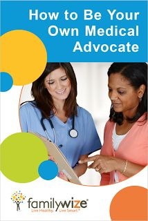 No one can care for your health like you do. Learn how to be your own medical advocate.