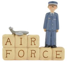 Air Force Block with Boy  $6.99