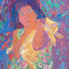 La Obra de Ninoska se muestra en esta sección organizadas en colecciones, como mi gente, mis flores, etc.