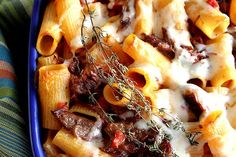 Braised Short Rib Mac & Cheese-take the time to try this yummy dish!