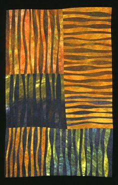 Fancy Free: Janet Steadman: Art Quilt - Artful Home