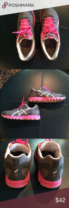 LIKE NEW ASICS 33 HOT PINK/GRAY SNEAKERS SIZE 11 LIKE NEW ASICS 33 HOT PINK/GRAY/WHITE SNEAKERS SIZE 11 Asics Shoes Athletic Shoes