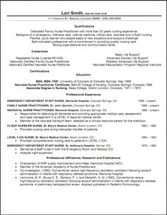 nurse practitioner resume objective