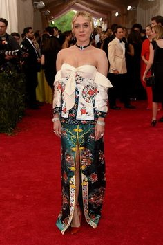 """Chloe Sevigny attends the """"China: Through The Looking Glass"""" Costume Institute Benefit Gala at the Metropolitan Museum of Art on May 4, 2015 in New York City.  (Source: Getty)"""