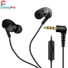 CinkeyPro Sport Earphone In Ear Earbuds headphones Wired Headphone With Microphone Volume Control Gaming For Xiaomi iPhone