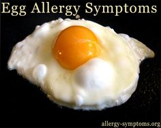 The most common form of food allergy among children is egg allergy. People with egg allergy will have hypersensitivity to egg York or white or both, causing reaction to the immune system.egg allergy occurs when a person's immune system overreacts to the proteins present in the egg, the body then creates antibodies and releases chemical called histamine in order to protect from the protein. These chemicals cause the symptoms of egg allergy. http://allergy-symptoms.org/egg-allergy-symptoms/