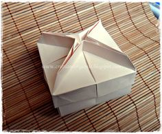 Caixa Russa Origami Boxes, Container, Tube, Packaging, Crates, Paper, Origami Box