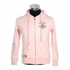 Chrome Hearts Cotton Hoodie Fuck You Flare Scroll Pink