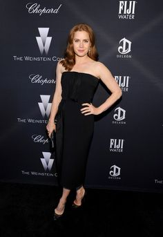 Amy Adams Photos: FIJI Water At The Weinstein Company's Academy Awards Nominees Dinner In Partnership With Chopard, DeLeon Tequila, FIJI Water And MAC Cosmetics