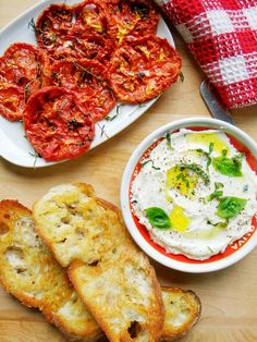 Whipped Ricotta with Slow Roasted Tomatoes