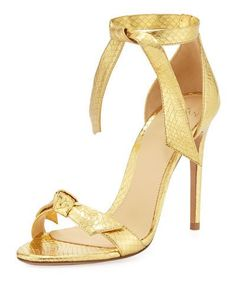 Shop designer heels for women at Bergdorf Goodman. Step up into a high end world with these brand name pumps and heels that are worth it all. Alexandre Birman, Sneaker Boots, Mellow Yellow, Snake Skin, Metallica, Stella Mccartney, Open Toe, Ankle Strap, Stiletto Heels