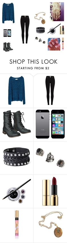 """""""The Hale Twins #4"""" by jazmine-bowman ❤ liked on Polyvore featuring Issue 1.3, River Island, Mossimo Supply Co., Topshop, Maybelline, Ciaté and Cullen"""