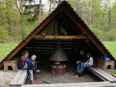 campfire house Tiny House Cabin, Tiny House Design, Casa Alpina, Outdoor Shelters, Cabin Tent, A Frame Cabin, Garden Structures, Campsite, Outdoor Rooms