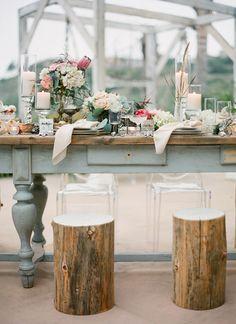 Nautical shipwreck theme wedding | Photo by Jose Villa | 100 Layer Cake