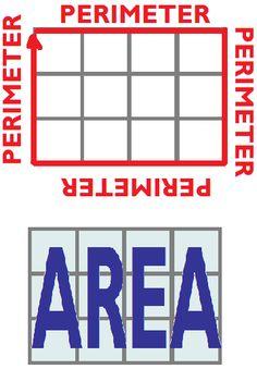 296 best math area perimeter volume images in 2018 school