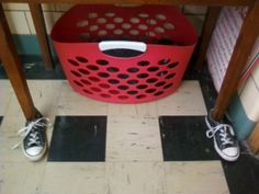 Dr. Jean & Friends Blog: TABLES WEARING SHOES??? Students can practice tying their shoes when finished with an activity