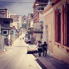 Conoce Calle de la Parroquia Santa Rosalía  Reportero Gráfico Alexandra Blanco   #Venezuela #street