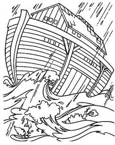 These sequenced Bible coloring pages will help kids learn the story of Noah and the Ark. Description from pinterest.com. I searched for this on bing.com/images