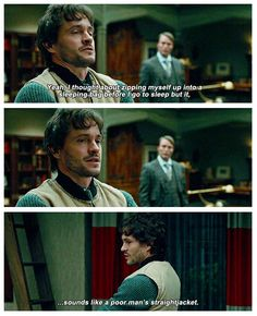 Will - Hannibal. This is really cute to me for some reason. UvU