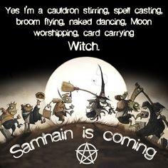 Samhain is coming