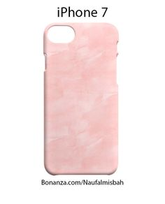 Pink Watercolor iPhone 7 Case Cover Wrap Around