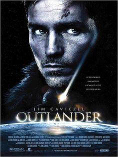 Outlander: Guerreiro vs Predador : Poster Howard McCain, Jim Caviezel