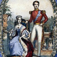 Queen Victoria and Prince Albert in