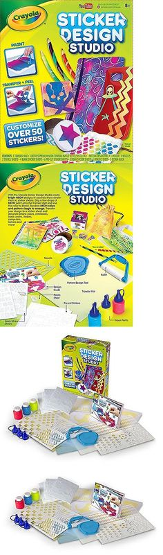 Rings 162100 crayola sticker design studio toy buy it now only 31 08